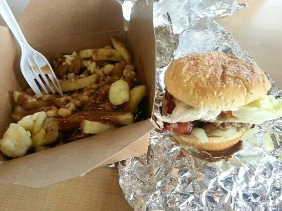 BOOMburger: Best lunch ever!