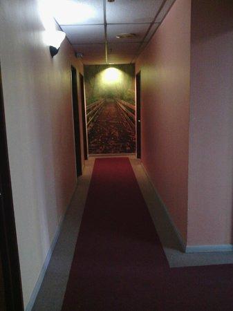 Century Hotel: hallway