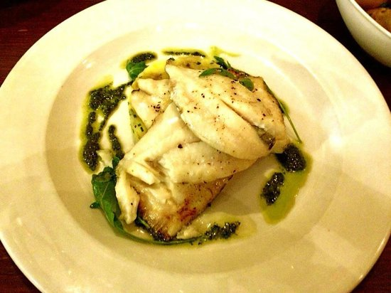 The Driftwood Spars B & B: John Dory with Crushed Potatoes (highly recommend)