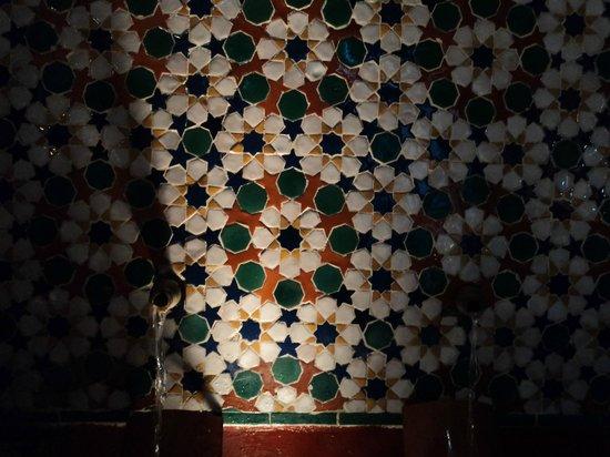 Hammam Al Andalus Madrid : wall tiles