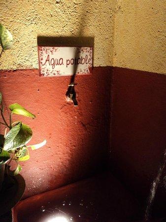 Hammam Al Andalus Madrid : drinking water