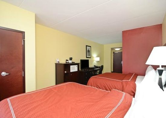 Comfort Suites Mount Juliet: Double Queen Suite