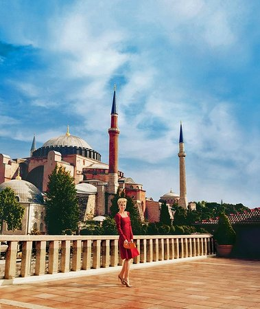 Turk Art Hotel: Roftop terrace