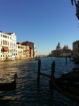 Ca' del Nobile: The Grand Canal from Accademia Bridge - 31.12.2012