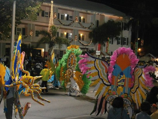 Pelican Bay at Lucaya: Junkanoo parade New Year's day