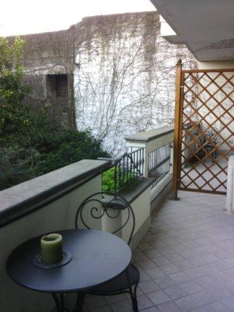 Certe Notti: terraza de la habitación