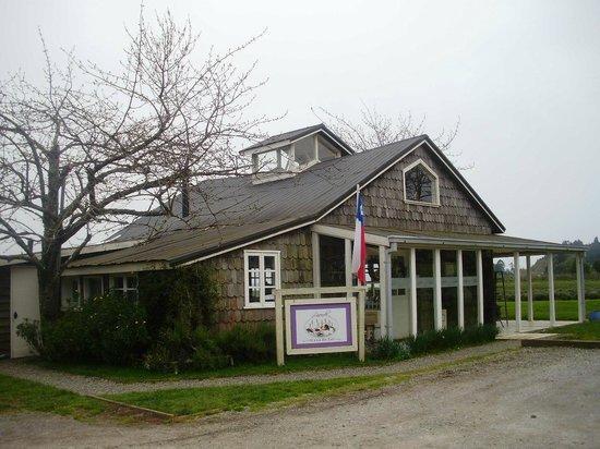 Lavanda Casa de Te: front of tea house