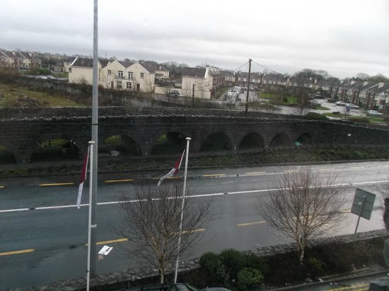 "The Arches Hotel, Claregalway: Window seat view ""Arches"" and countryside."