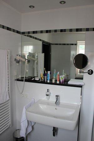 Hotel Burgcafe: Waschbeckenbereich