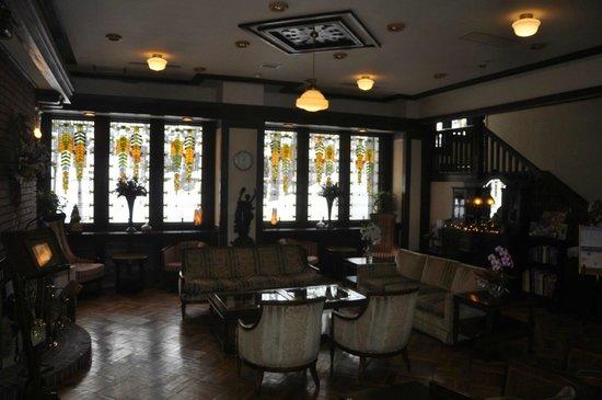 Hotel La Neige: Lobbby