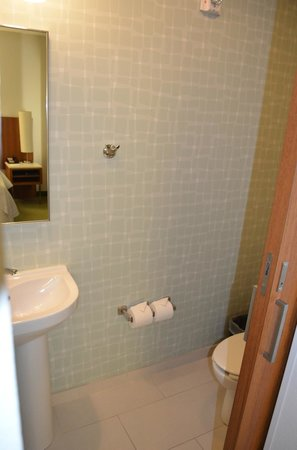 SpringHill Suites by Marriott Orlando at SeaWorld: Separate restroom