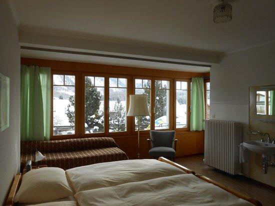 Hotel Trais Fluors: Doppel-oder 3-Bettzimmer Nr. 14