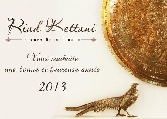 Riad Kettani: Tous nos Meilleurs Voeux