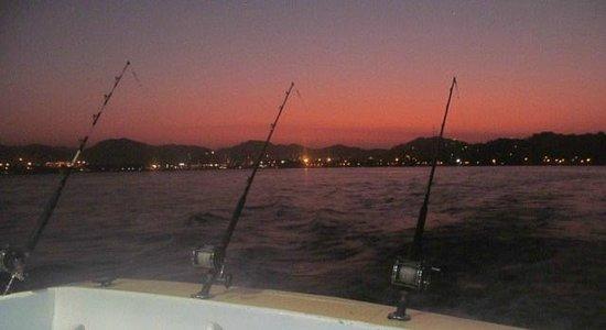 Hotel La Posada: Fishing for Dorado. Caught lots! Best tasting fish ever!
