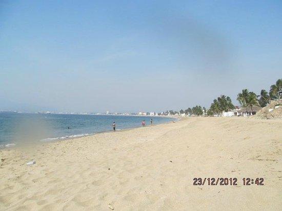 Hotel La Posada: Beach to ourselves!