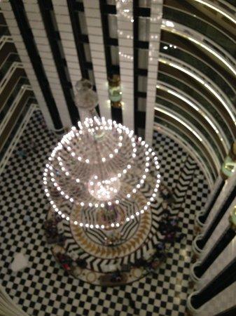 Delphin Imperial Hotel Lara: De lobby vanaf boven