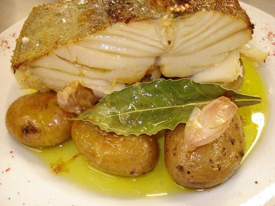 Serra del Rei, Portugália: Lombo de bacalhau à lagareiro