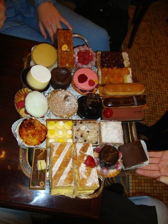Cafe Les Deux Magots: los dulces