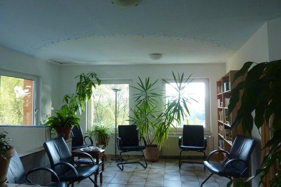 Hotel Grünwald: Leseecke