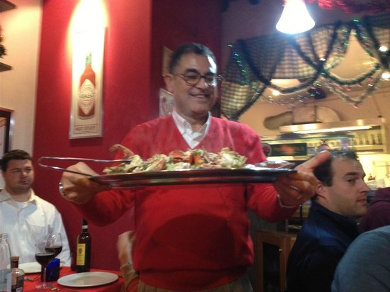 Passaparola: What an incredible dish delivered by a great host/waiter!