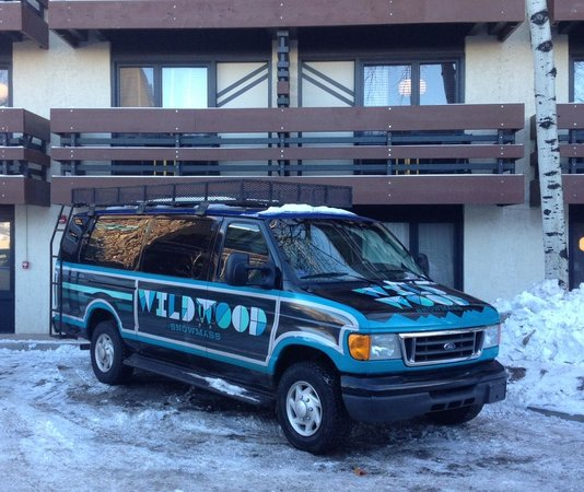 Holiday Inn Express Snowmass Village: The Wildwood Van!