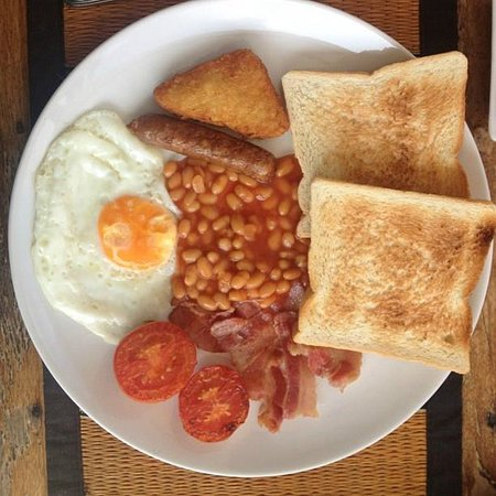 Sansuko Ville Bungalow Resort: MMM! Fantastic full English breakfast
