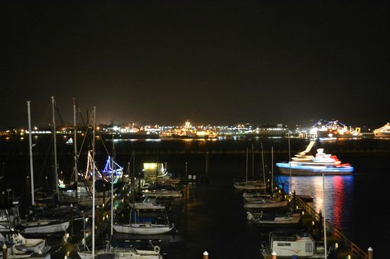 The Landing at Newport Condominium-Hotel: The view from the balcony