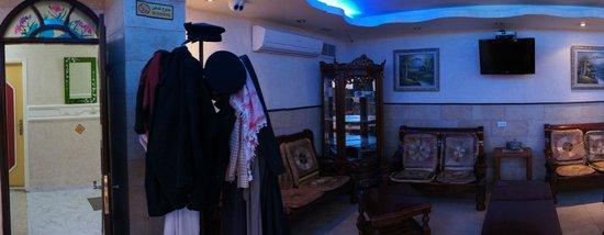 Hashimi Hotel: ロビー
