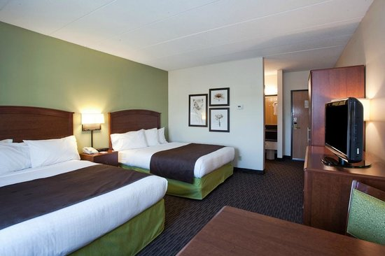 AmericInn Chanhassen: Traditional Two Queen bedroom