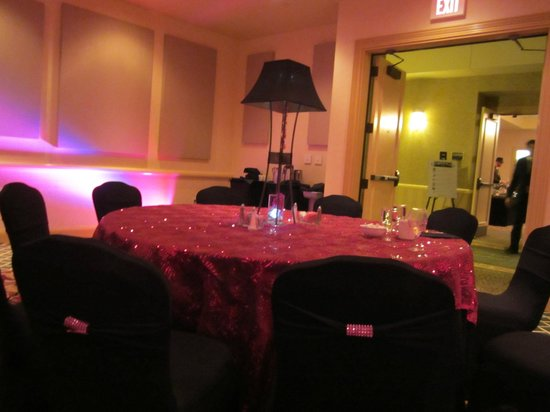 French Lick Springs Hotel: NYE dinner table