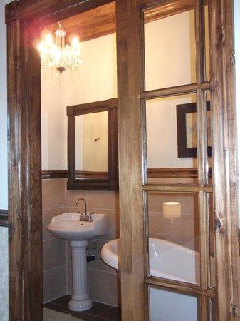 Le Domaine de la Baie : Salle de bain de la chambre La Gabelle