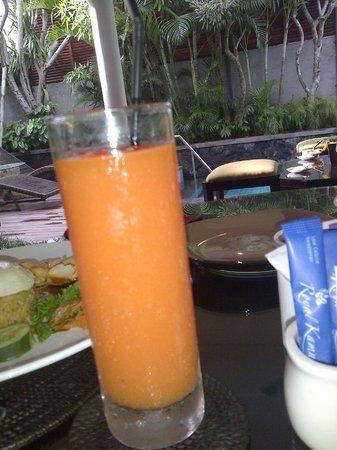Royal Kamuela: papaya juice