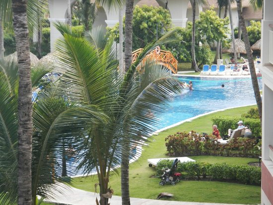 Hotel Majesctic Colonial Punta Cana: A view from our room