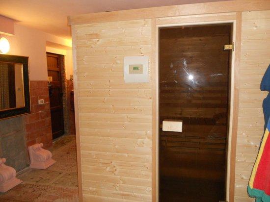 Agriturismo I Muri: la sauna