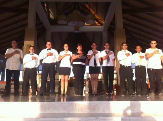 Royalton Cayo Santa Maria: Goodbye salute/Aurevoir