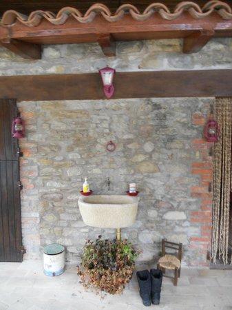 Agriturismo I Muri: la sala della sauna