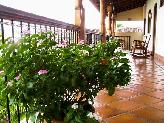Hotel Patio del Malinche: Vista desde la habitación.