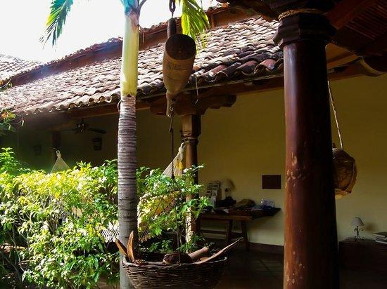 Hotel Patio del Malinche: Cerca del comedor.