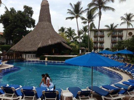 Hacienda Buenaventura Hotel Spa & Beach Club:                                                       View north from dining area