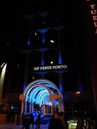 HF Fenix Porto: Visão exterior entrada