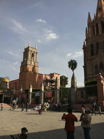 View from El Jardin in San Miguel de Allende
