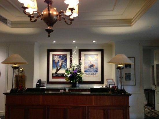 Lilianfels Resort & Spa - Blue Mountains: reception