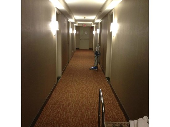 Hilton Toronto Airport Hotel & Suites: not so inviting...