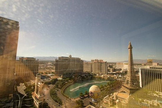 Planet Hollywood Resort & Casino: View from upgraded strip room