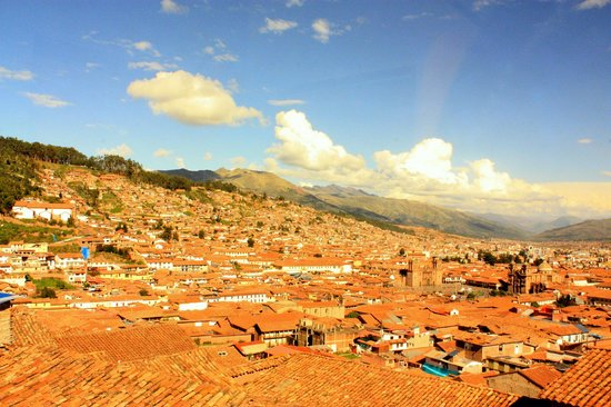 LOKI Cusco: view from the room