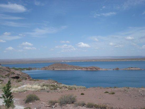 Cabañas Los Acantilados: Paisaje