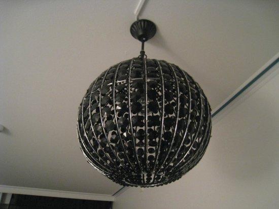 Fosshotel Lind: my disco lamp:-)