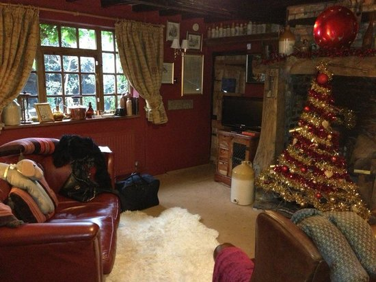 Wizards Thatch at Alderley Edge: living room