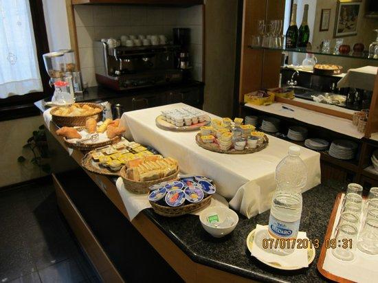Lombardi Hotel: breakfast
