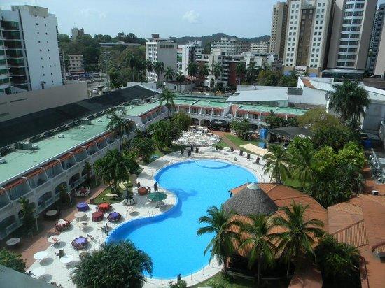 Hotel El Panama: Área de la piscina